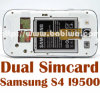 Samsung 은하 S4 Siv Siiii I9500 I9505 I950X I337 I545 L720 E300X를 위한 이중 SIM 카드 접합기