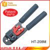 Гофрируя инструмент сети емкости 8p8c/RJ45 Ht-208m гофрируя