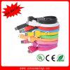 Câble usb coloré de Flat pour iPhone4 (NM-USB-657)