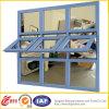 Finestra del PVC del blocco per grafici del PVC Parte-Appeso della finestra/di vetro Window/Exterior