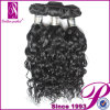 ペルーの巻き毛の人間の毛髪の拡張、卸し売りバージンの毛