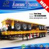 40feet 3axle hoher Flachbettbehälter-halb Schlussteil für Verkauf