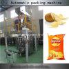 Azote façonnage/remplissage/soudure automatique remplissant petite machine à emballer de pommes chips