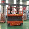Elevación eléctrica del hombre de la elevación hidráulica automotora del hombre