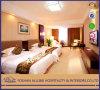 Nieuwe MDF van de Luxe van het Meubilair Hn0107 van het Ontwerp Chinese Moderne Commerciële Koninklijke Houten Geplaatste Slaapkamer Van uitstekende kwaliteit/Hotel Tweepersoonsbed