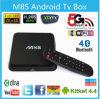 중국 Supplier OEM M8s Android Smart 텔레비젼 Box Amlogic S812 Chip Ap6330 4k 2g/8g Xbmc Dual Band WiFi Set Top Box
