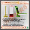 재충전용 Foldable 12 SMD LED 야영 손전등 USB 출구