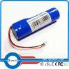 bloco cilíndrico da bateria de lítio de 3.7V 2400mAh