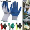 Nmsafety 10g Polyester Palm Coated Latex Labor Safety Glove