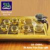 76 de nieuwe Gift van het Theekopje van het Glas van de Stijl met Infuser (L6-C660)