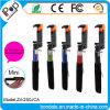 Foldable Clip Mini Wired Aluminium Selfie Stick para celular