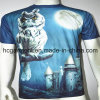 남자의 3D /Sublimation Printed Round Neck Short Sleeve T 셔츠