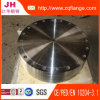 Bride borgne d'acier du carbone de BS4504 Pn25