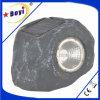 Indicatore luminoso del giardino, LED, lampada, lampada solare, grigia