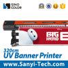 De UVPrinter uv-1260I/uv-1260/UV1260 van Sinocolor plus (3.2m, witte facultatief)