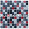 Mosaico di vetro bianco rosso nero (TG-SNK-025)