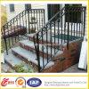 Pasamano de acero de la escalera del metal al aire libre moderno