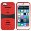 iPhone 6을%s 잡종 Rugged Stripe Hard Mobile Phone Case