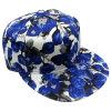 Casquette de baseball florale Sb15103 de Snapback de tissu
