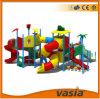 Скольжение изготовления Китая спортивной площадки цветастых детей Huaxia пластичное