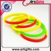 Wristband cativando do silicone do elastómetro da forma