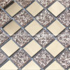 Glas und Metal Mosaic Tiles