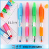 Plastic promotionnel 3 dans 1 Highlighter Stylus Ball Pen
