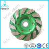 3 колеса меля диска чашки диаманта Inch/80mm