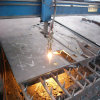 Plasma Cutting Steel Plate著機械Part Made