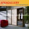 Подгонянный шкаф твердой древесины (AGW-003)