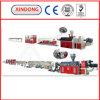 二重管の生産ラインConfiguratio/Tiwnのプラスチック管のProductinラインセリウム