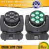 7 de Vierling Color Mini LED Beam Moving Head van X 12W RGBW