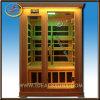 Het nieuwe Huis van de Sauna van de Ceder van de Richting Rode Houten Infrarode (ids-LC20)