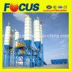Planta de mistura concreta pronta da mistura do transporte de correia do equipamento de construção Hzs120
