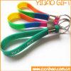 Heißer Verkaufs-Qualitäts-SilikonWristband mit Metallring (YB-SM-08)