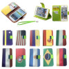 Samsung 의 iPhone, Blackberry New Style Different 국가 Flag Phone Case Leater Case를 위한 세포 Phone Accessories