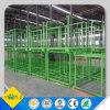 Pálete lisa de aço de empilhamento industrial de armazém de armazenamento