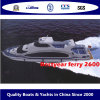 Ferry de pasajeros de acero 26m Barco