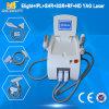 毛及びTattoo Removal ND YAG Laser+IPL+RF+Elight (セリウムの承認)