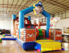 Sale caldo Inflatable Pirate Obstacle per Kids