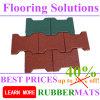 en el precio más barato de goma de los azulejos de suelo de la dimensión de una variable del hueso de perro de las ventas