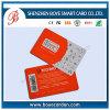 Sgs-anerkannte Strichkode PVC-Visitenkarte