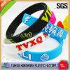 Wristband impresso del braccialetto del silicone (TH-9365)