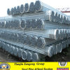 PVC Cap Insertとの熱いDipped Galvanized Steel Pipes
