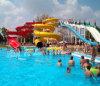 カスタマイズ可能で巨大なテーマパーク水スライド