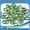 Anéis-O/anéis-O de borracha verdes de Fluoro