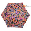 Super Light Colorful Flower 5 Folding Umbrella with Case (YSF5006B)