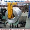 Bobina de acero del Galvalume de Gl del material de construcción con la lentejuela