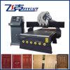 Máquina de alta velocidad de la carpintería del CNC de China con el vector del vacío