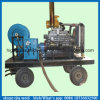 200barディーゼル機関の高圧下水道の下水管のクリーニング機械